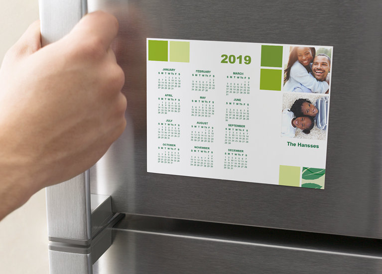 custom magnetic calendars