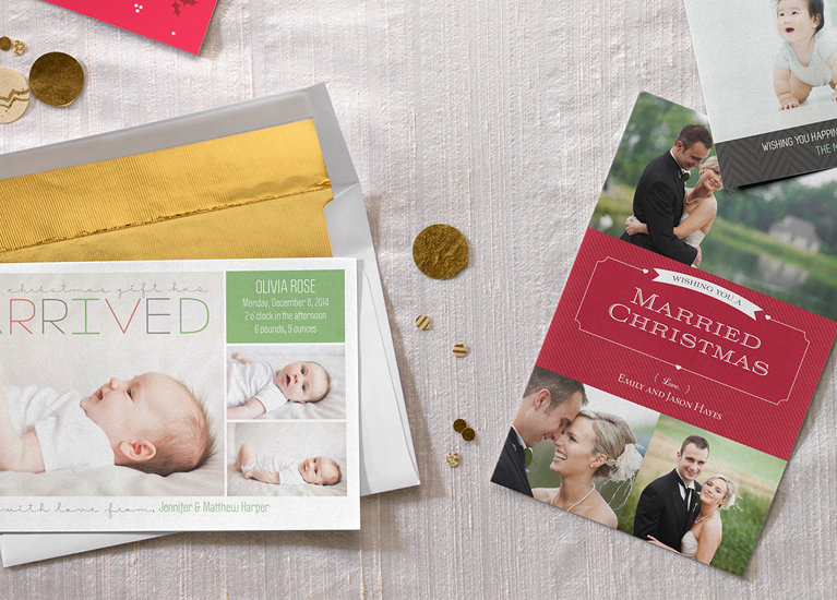 Custom Photo Christmas Cards and Holiday Cards Vistaprint