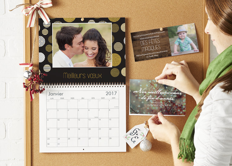 Calendriers muraux photo 2017 personnalis s vistaprint for Planning mural 2017