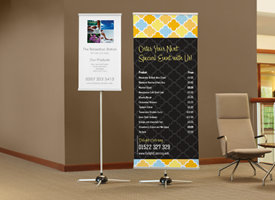 Banner Printing Personalised Banners By Vistaprint