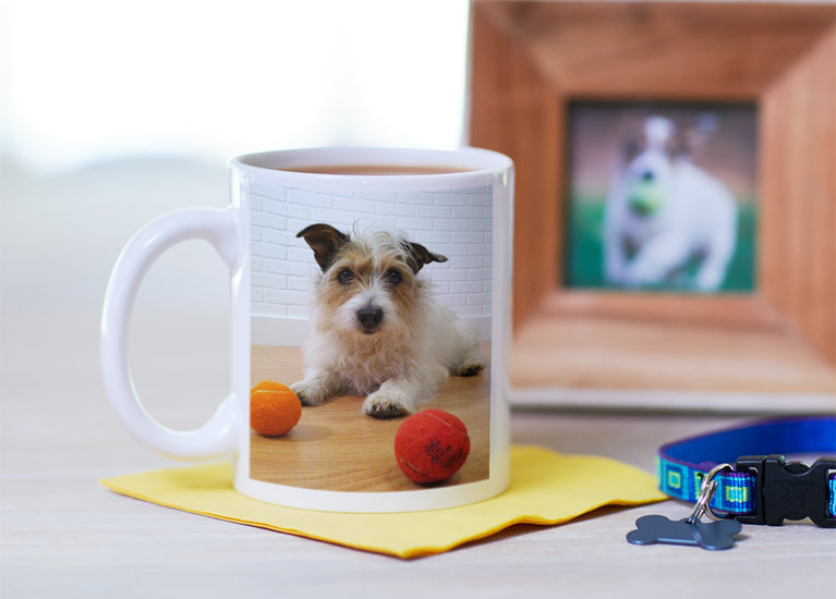 25% Off Custom Photo Mugs. Save 25% on Vistaprint's custom Photo Mugs this holiday season. Choose from single photo, photo collage, or wraparound photo upload options. You can even choose a .