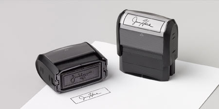 Name stamps & signature stamps | Vistaprint rubber stamps