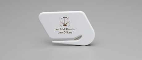 Custom plastic letter openers for your office