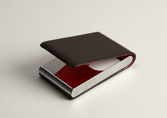 Personalized business card holders cases vistaprint for Vistaprint business card holder