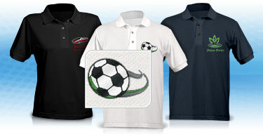 Embroidered Polo Shirts