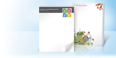 Personalized Notepads & Memo Pads | Vistaprint