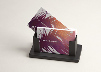 Desk Business Card Holders