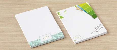 Custom notepads for business notes & shopping lists