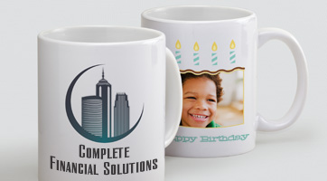 "His and hers mugs make for a great ""thank you"" gift and there is no better way to celebrate new grandparents than with a custom photo mug! From stunning initial cups, to decorative coffee mugs, fun photo-printed mugs, to seasonal holiday mugs, we've got customizable mugs large and small and to suit all tastes and beverages."
