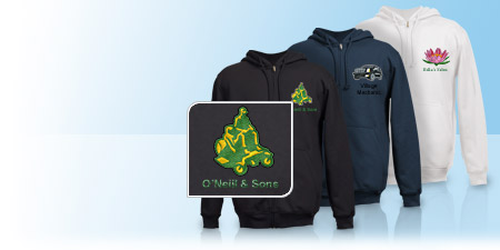 Custom Hoodies & Embroidered Sweatshirts | Vistaprint