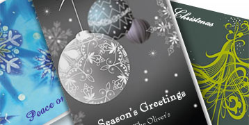 Holiday 4'' x 8'' Postcards