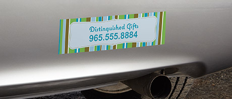 Custom Labels  Personalized Stickers Vistaprint - Custom car decals houston   how to personalize