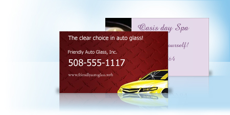 Business Card Magnets Vistaprint - Custom car magnets for business