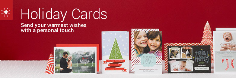 Make Your Own Custom Christmas Photo Cards | Vistaprint