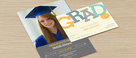 Custom Invitations Make Your Own Invitations Online Vistaprint – Order Graduation Invitations
