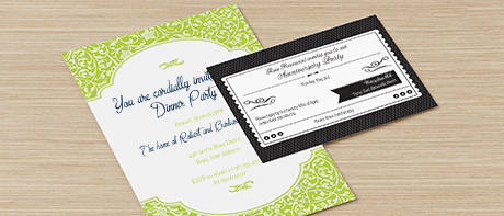 Custom invitation business plan
