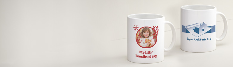 Little bundle of Joy custom mugs