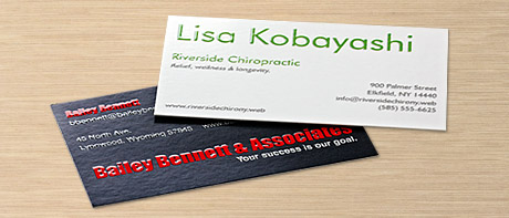 Business Cards Make Your Own Custom Cards