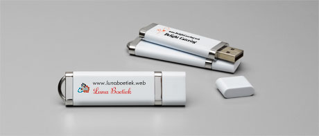 Bedrukte USB-sticks