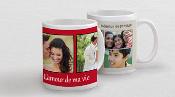 Mugs multi-photos