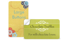 Small Product Labels - Rectangle