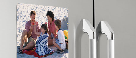 XL fridge photo magnets