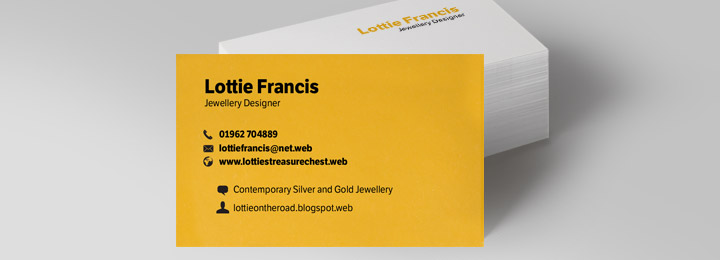 Networking cards your business cards from Vistaprint