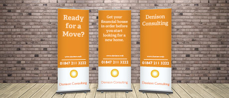Banners for businesses, trade shows & parties