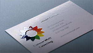 Spot gloss business cards glossy cards