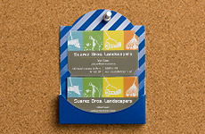 Bulletin Board Business Card Holders