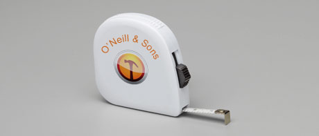 Promotional tape measures