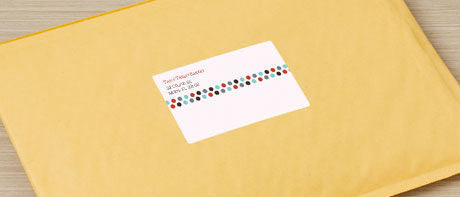 Postage labels & stickers