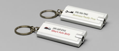Business keyring torches