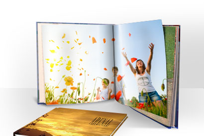Personalised photo books by Vistaprint