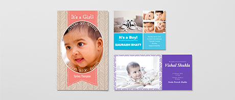 Birth announcements: christening & baptism invitations