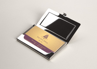 Metal Business Card Holders