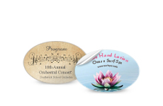 Small Product Labels - Oval