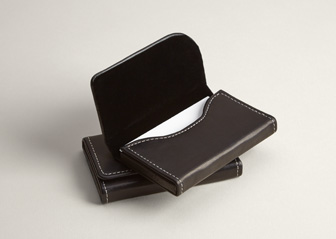 Leather Business Card Holders