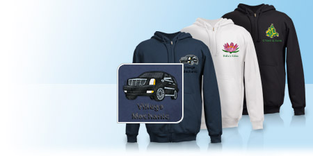 Custom hoodies embroidered sweatshirts for Vistaprint custom t shirts