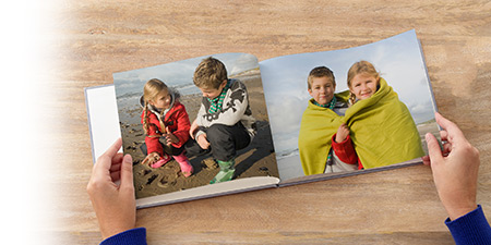 Custom-Printed Photo Books