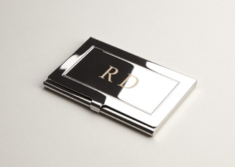 Engraved Business Card Holders
