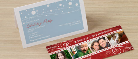 Holiday party invites