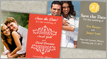 10 FREE Save the Dates at Vistaprint.com