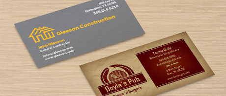 business cards - Vistaprint Business Card